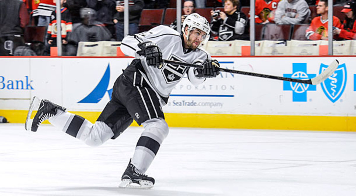 Simon Gagne was traded back to the Philadelphia Flyers
