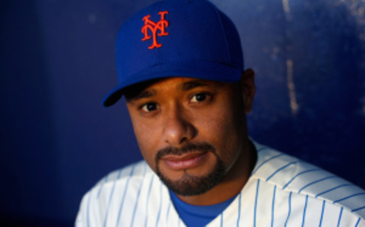 Mets pitcher Johan Santana will look to sign with another team this winter after undergoing a possible career-ending shoulder surgery. (Chris Trotman/Getty Images)