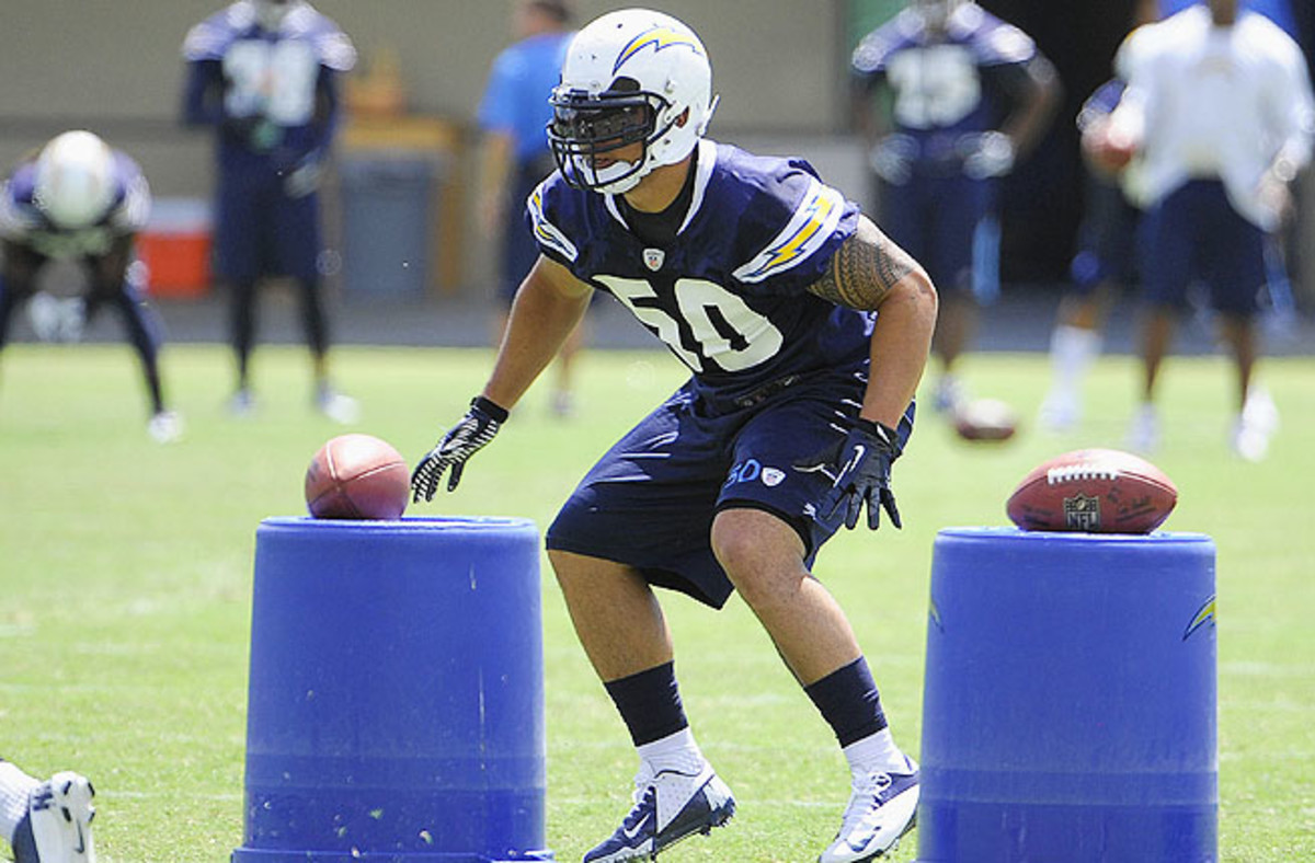The last time Te'o was allowed to speak with reporters was on May 10 during rookie minicamp.