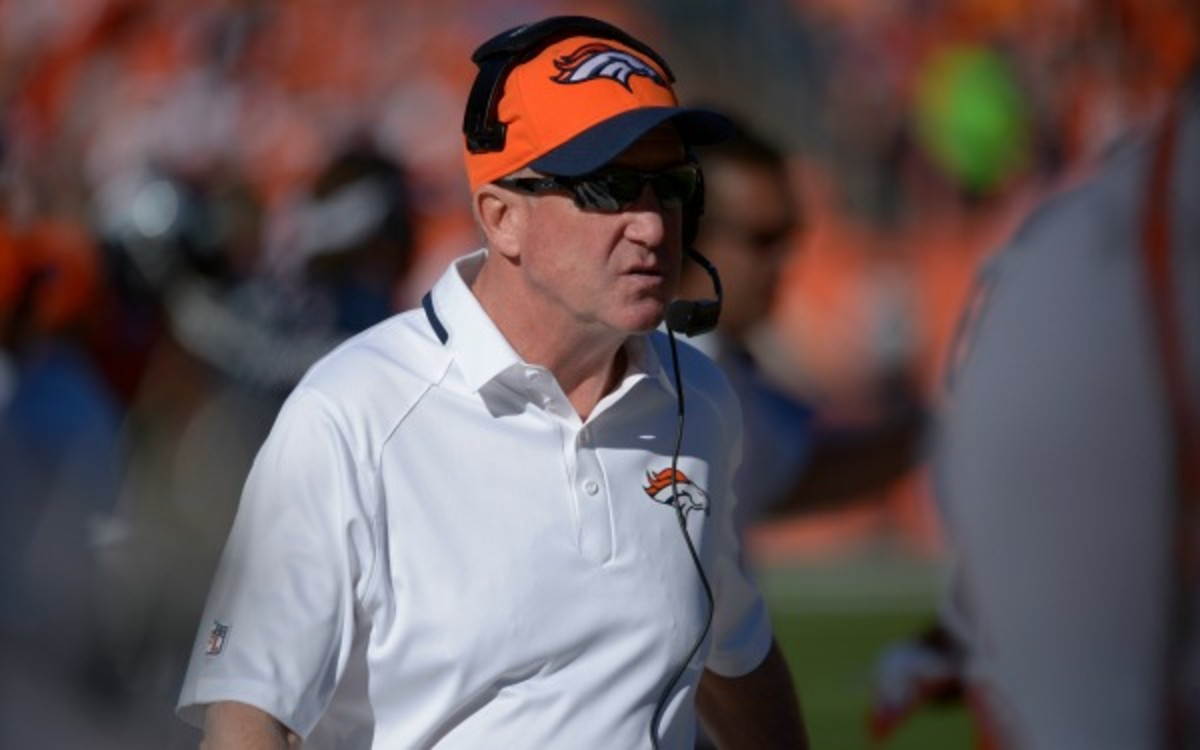 John Fox has coached the Denver Broncos to a 7-1 record this season. (Tim Rasmussen/Getty Images)