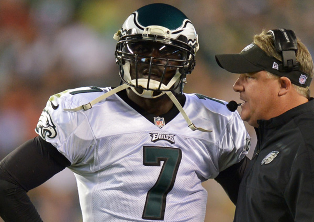 Chip Kelly has put his faith in Michael Vick's dynamism to run Kelly's unique offense.