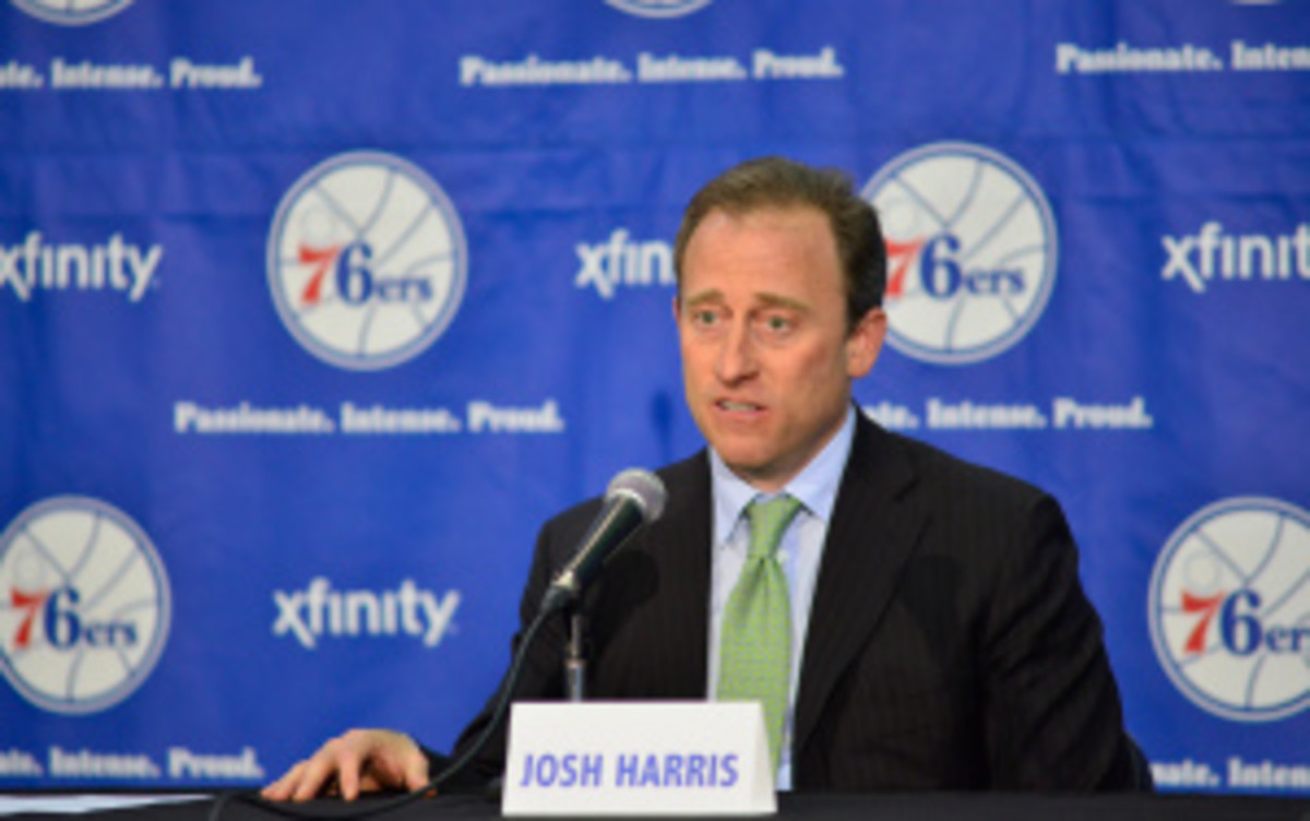 Sixers owner Josh Harris officially purchased the Devils on Thursday for $320 million. (David Dow/Getty Images)