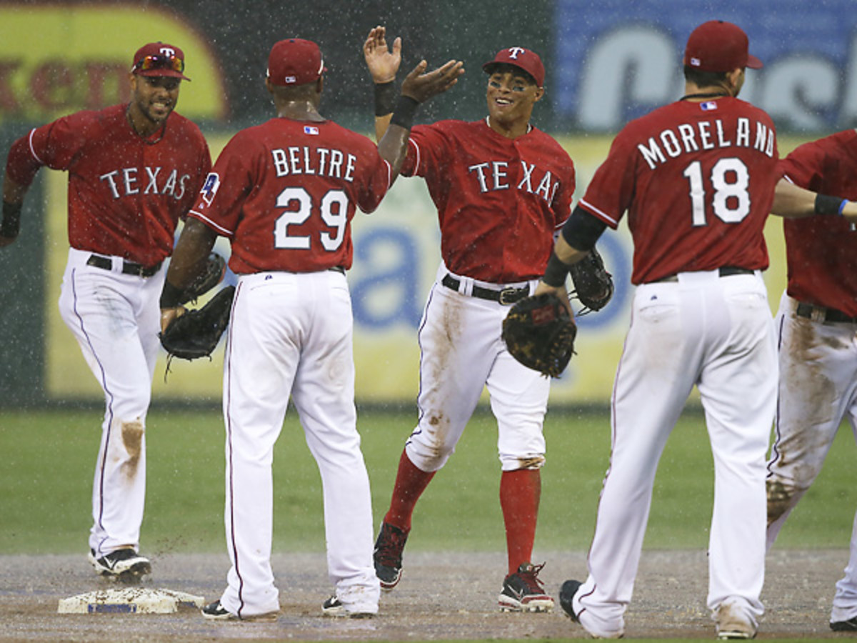 The Rangers will likely face the most pressure on Sunday afternoon. (LM Otero/AP)