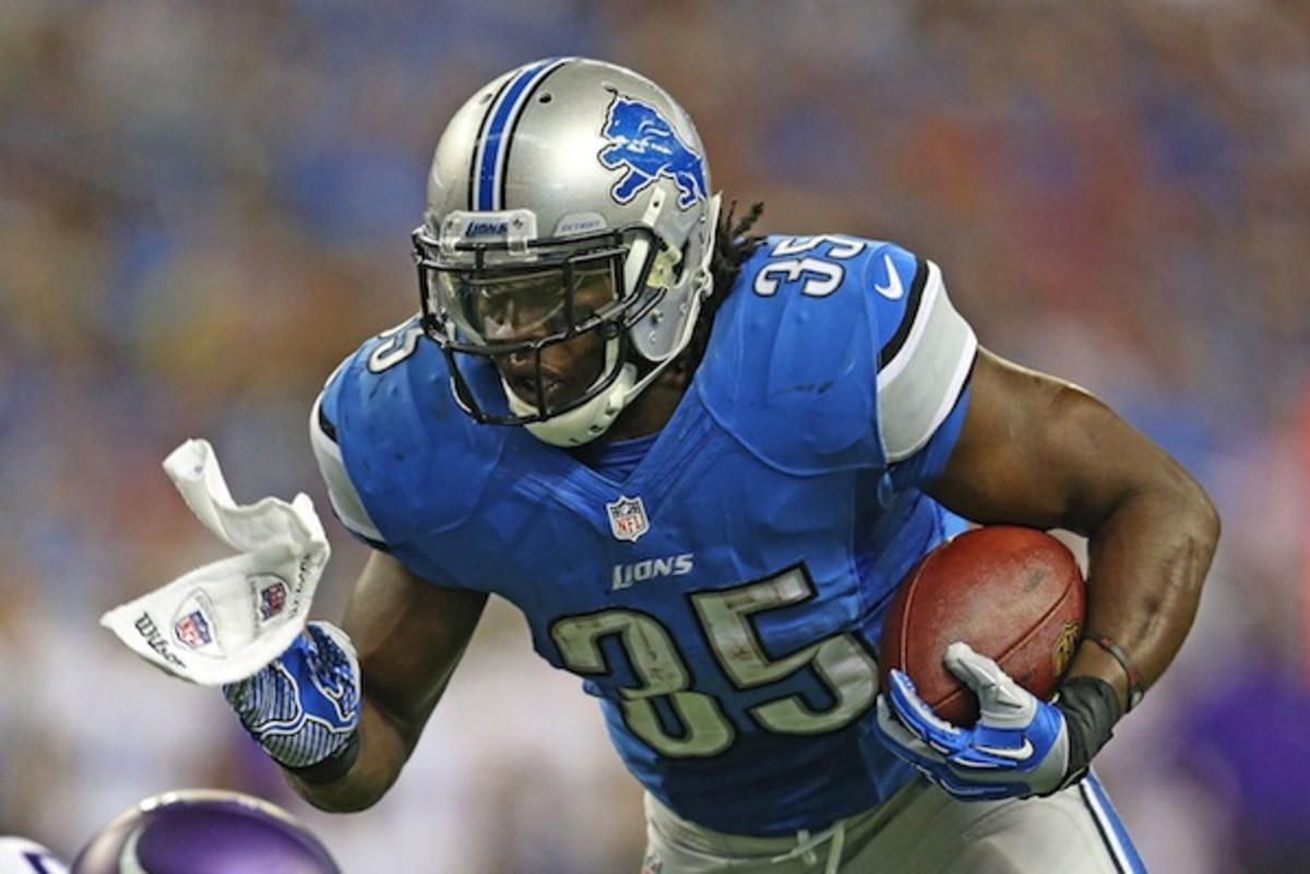 Breakout Performer: Homegrown Lions RB Joique Bell Is Ready to ...