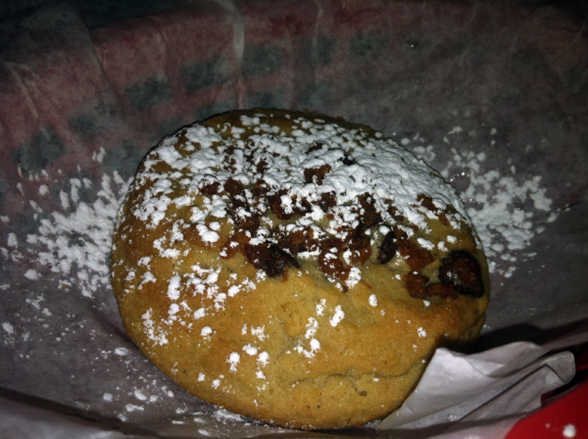Chocolate- and bacon-chip cookie. (Andy Staples)