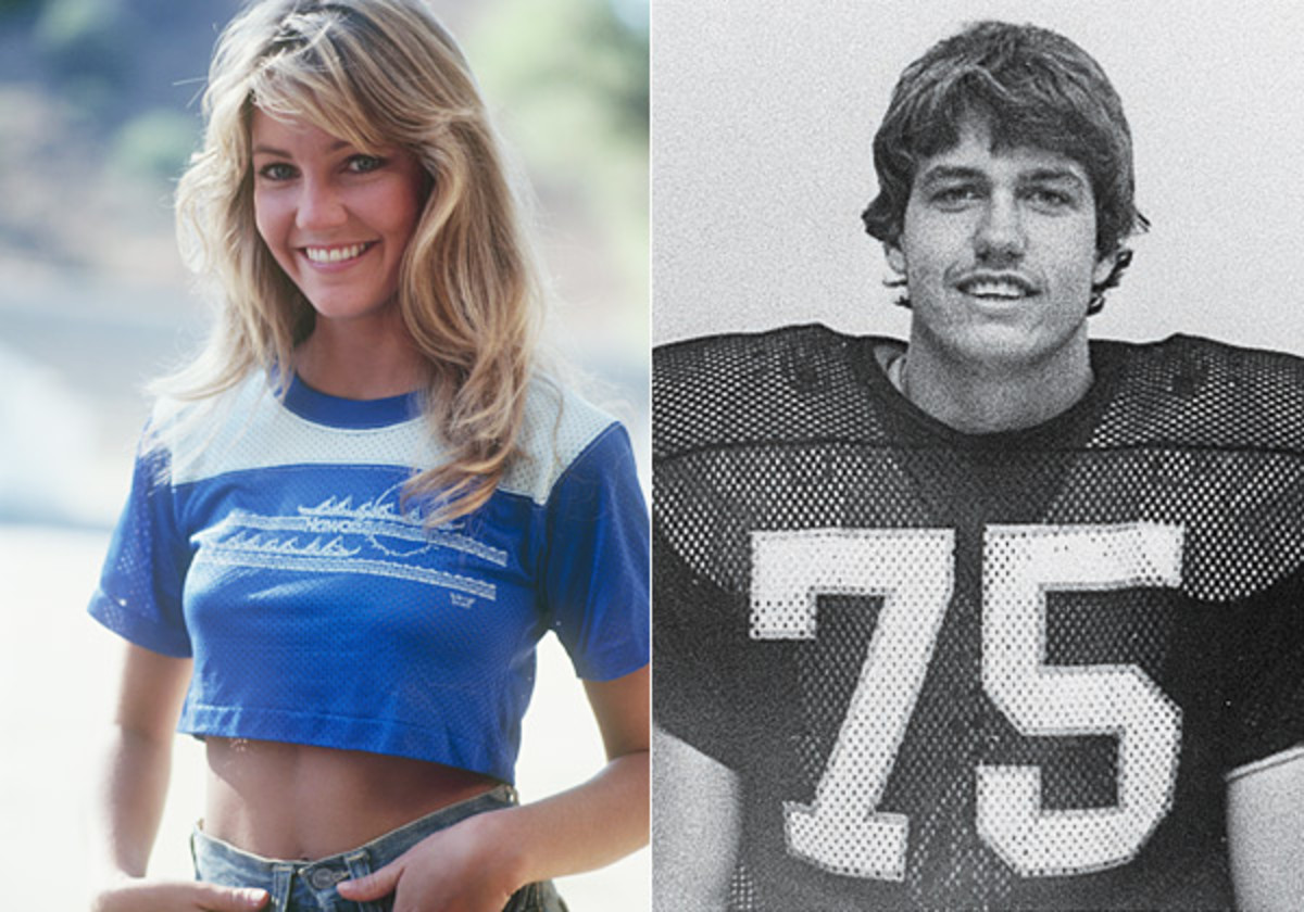 Heather Locklear and Rex Ryan in 1981 :: Getty Images, Courtesy  of Southwestern Oklahoma St.