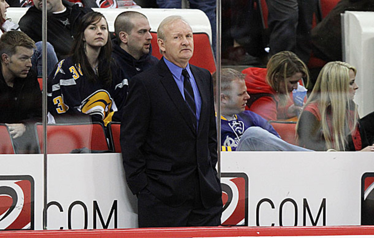 Buffalo Sabres coach Lindy Ruff has been fired