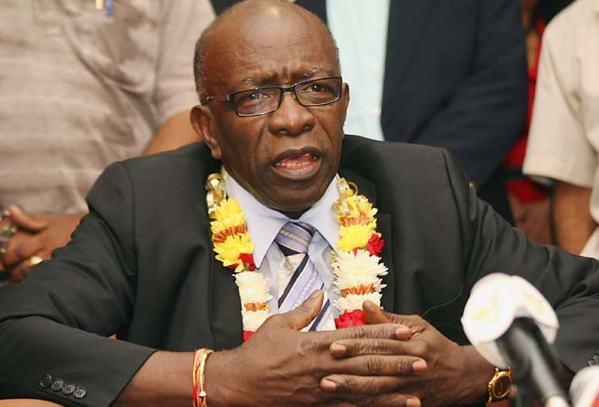 The son of Jack Warner (pictured), Daryan, is said to be the FBI's witness.