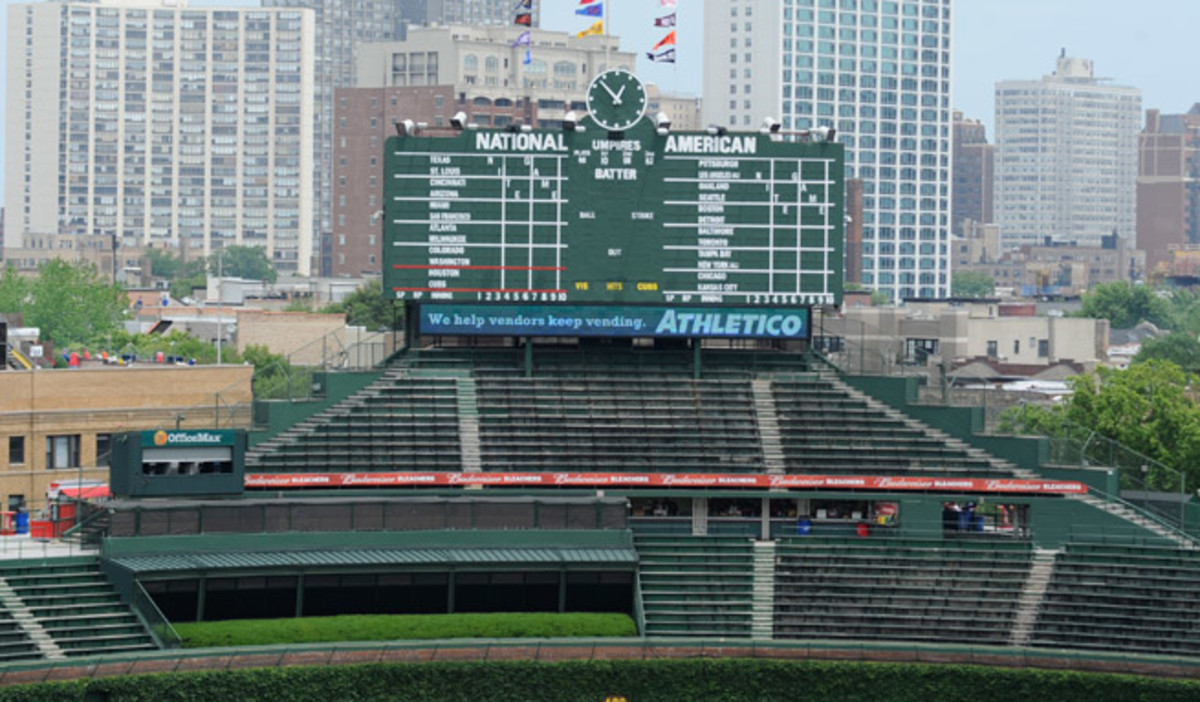 Wrigley Field may get a Jumbotron in left field after reaching a deal with the city to allow it.