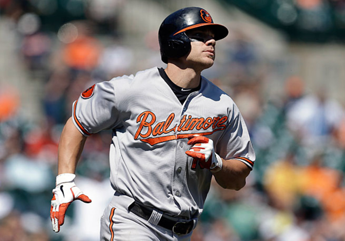 Chris Davis is chasing what he said he considers to be the single-season home run record: the 61 hit by Roger Maris in 1961.