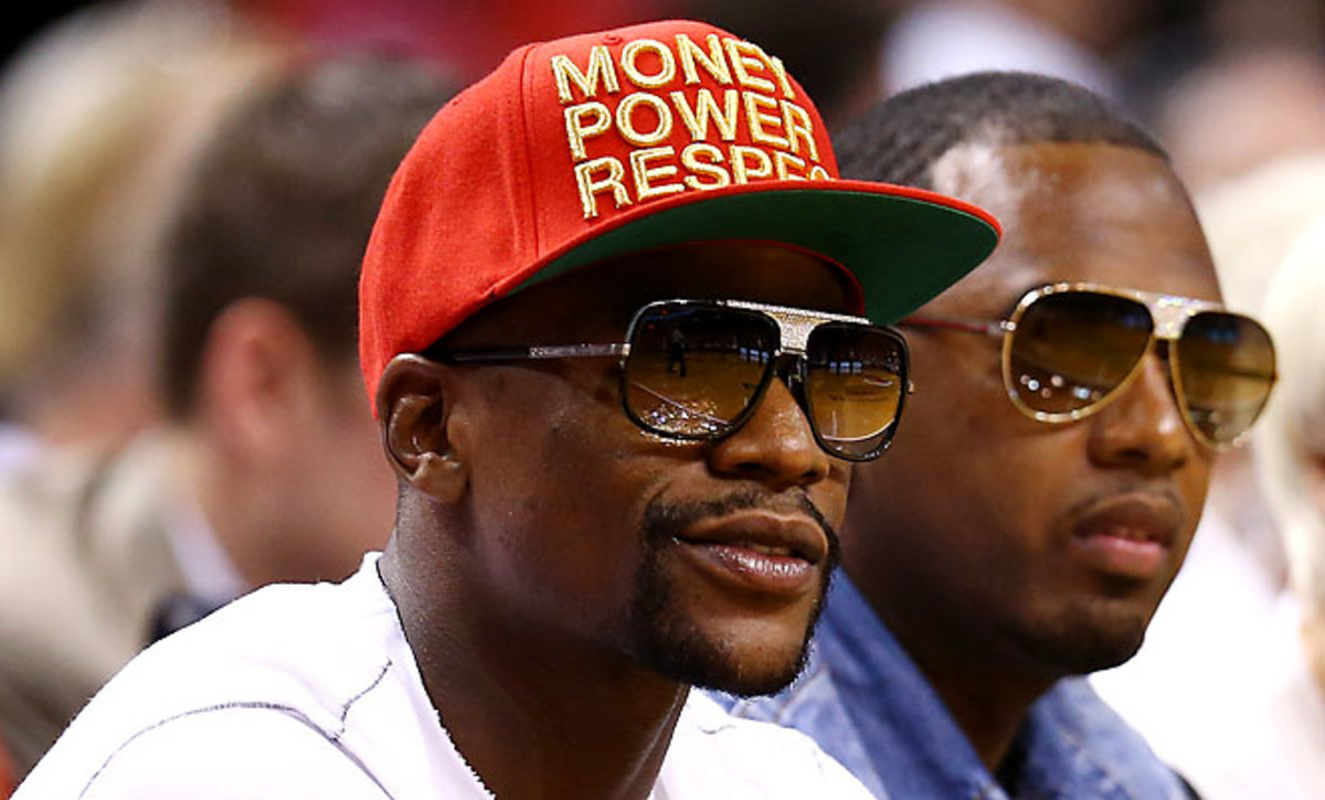 Floyd Mayweather has attended Miami Heat games in the past, including the Eastern Conference finals last season.