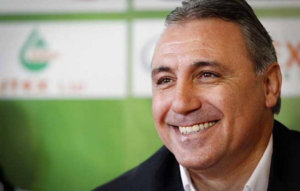 Hristo Stoichkov led Bulgaria to the 1994 World Cup semifinals.