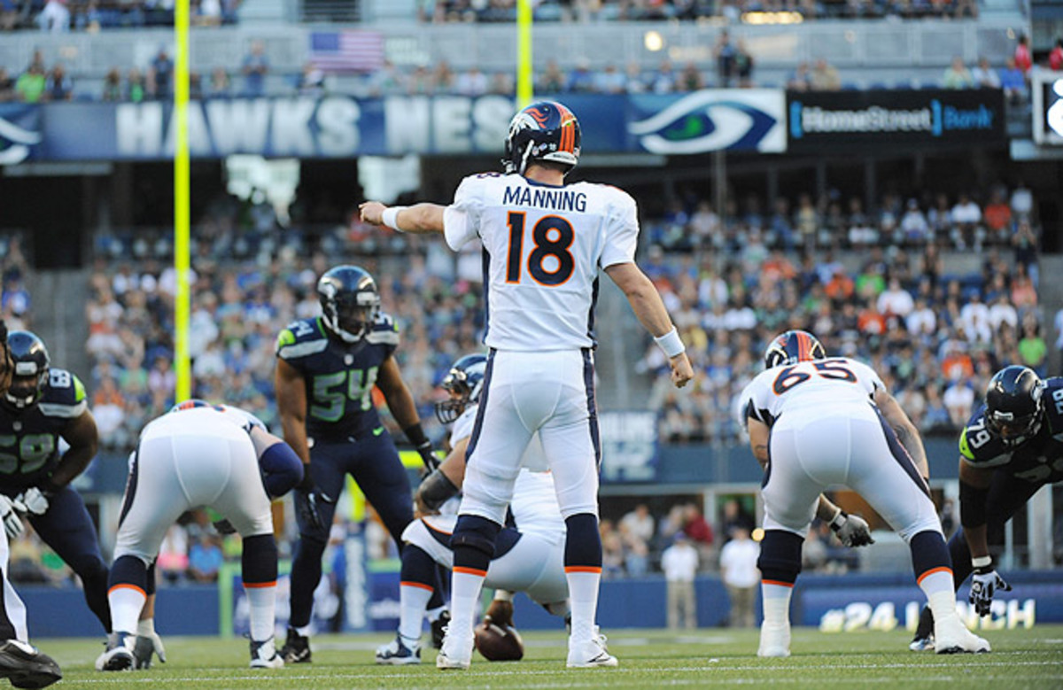 Peyton Manning will look to lead the Broncos to the Super Bowl after falling short in 2012.