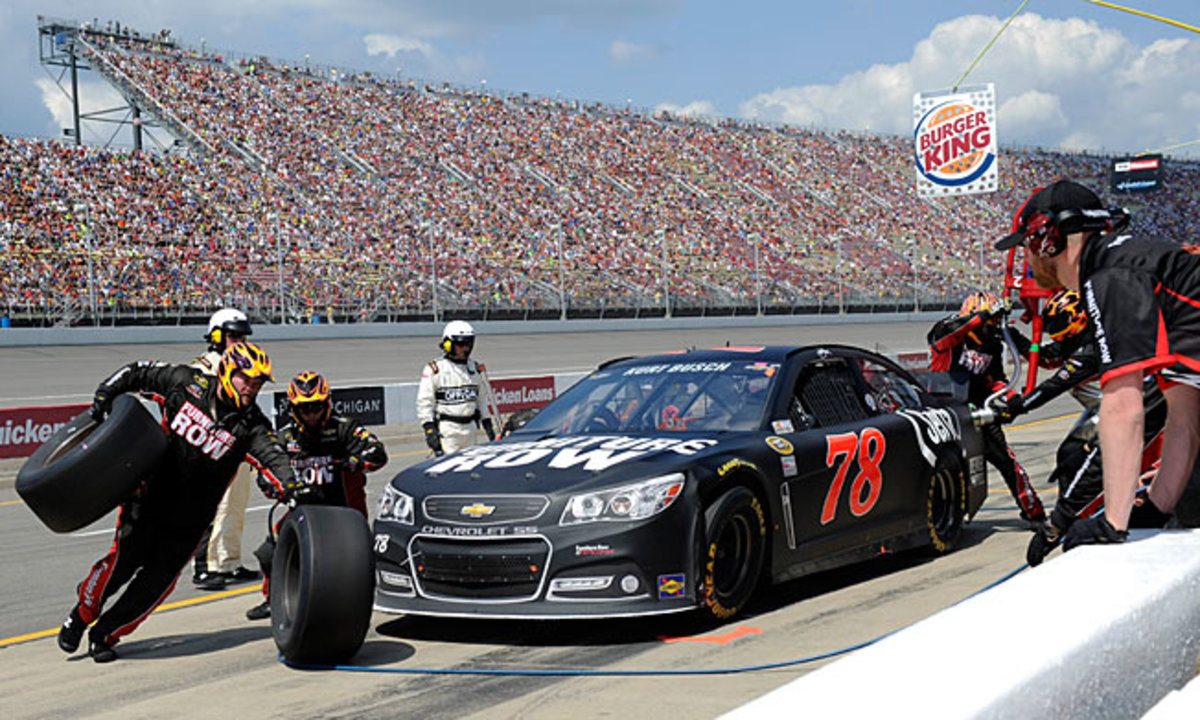 A year with underfunded, single-car Furniture Row revived Kurt Busch's Cup career.