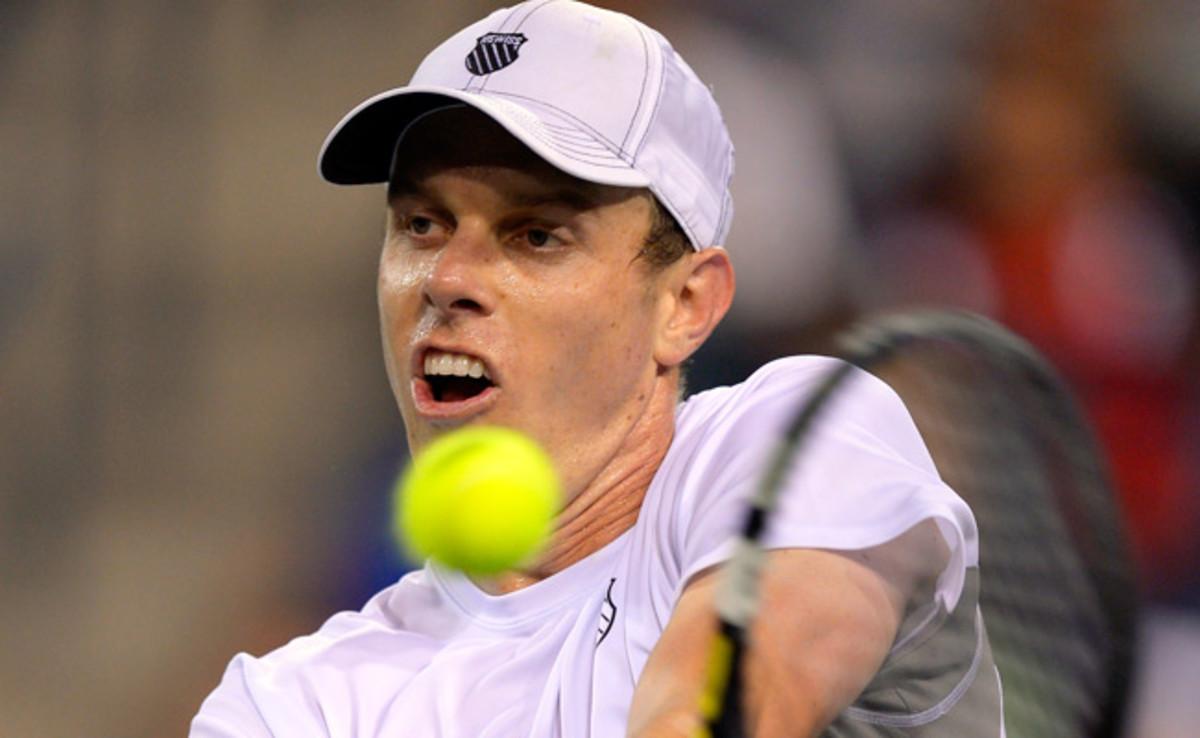 Sam Querrey recently overtook John Isner to become the top-ranked men's singles player in the U.S.
