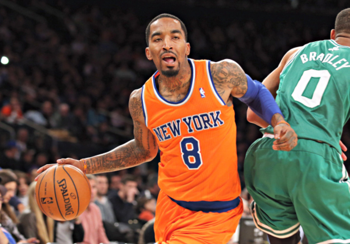 J.R. Smith has been brutally inefficient this season. (Bruce Bennett/Getty Images)