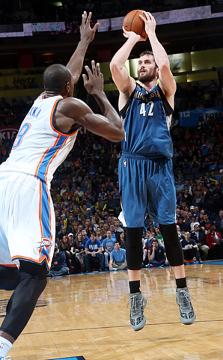 Kevin Love can become a free agent after the 2014-15 season.