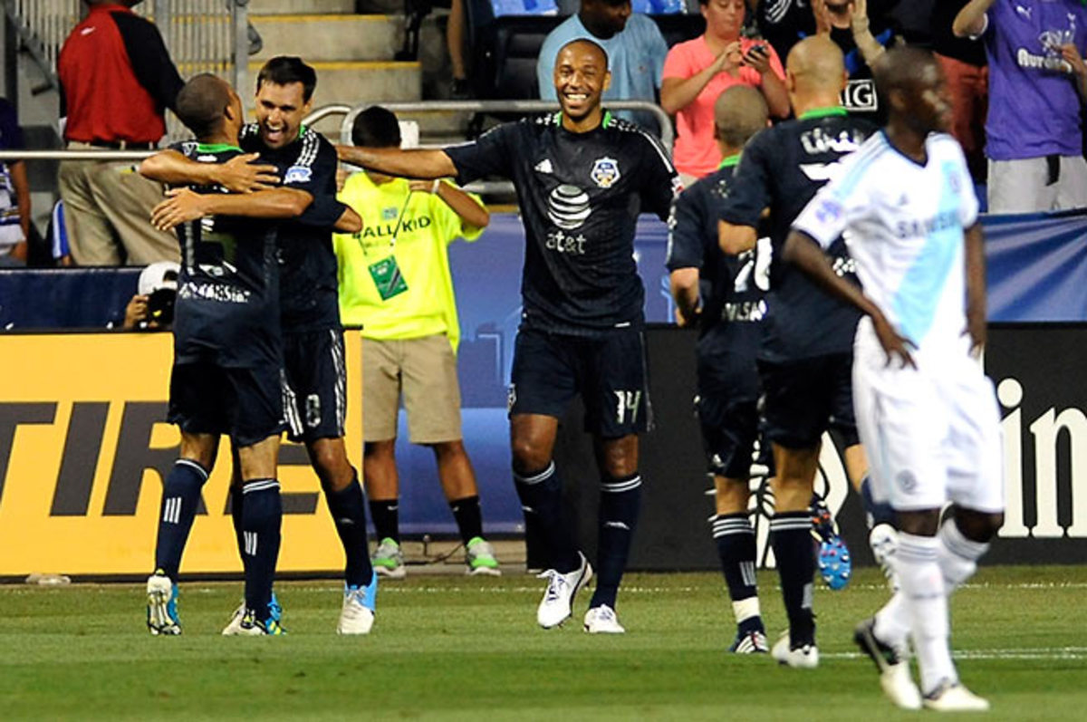 Thierry Henry said MLS gained Chelsea's' respect after beating its showing in the 2012 All-Star game.