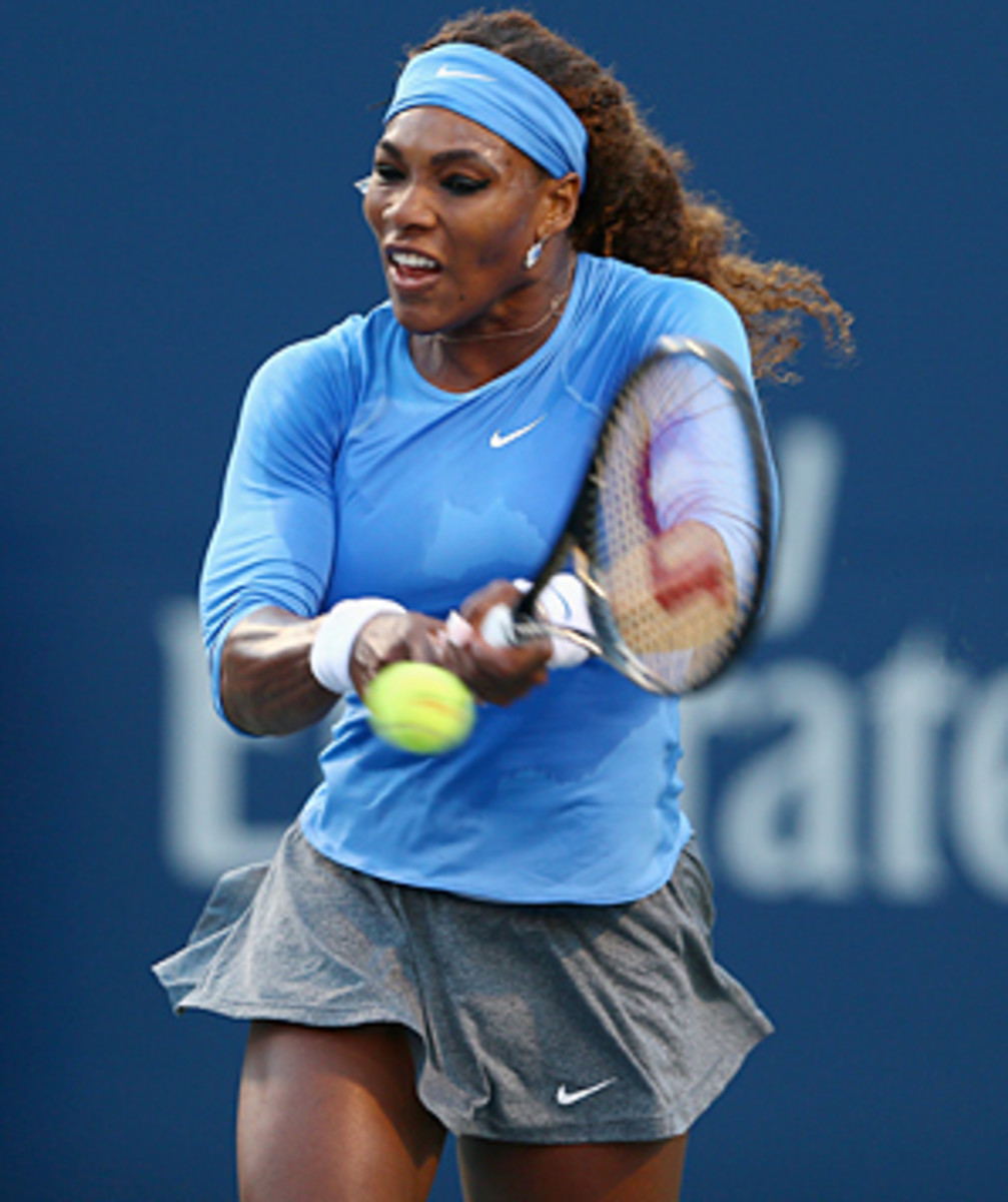 Defending champion Serena Williams is looking to win her fifth U.S. Open title.