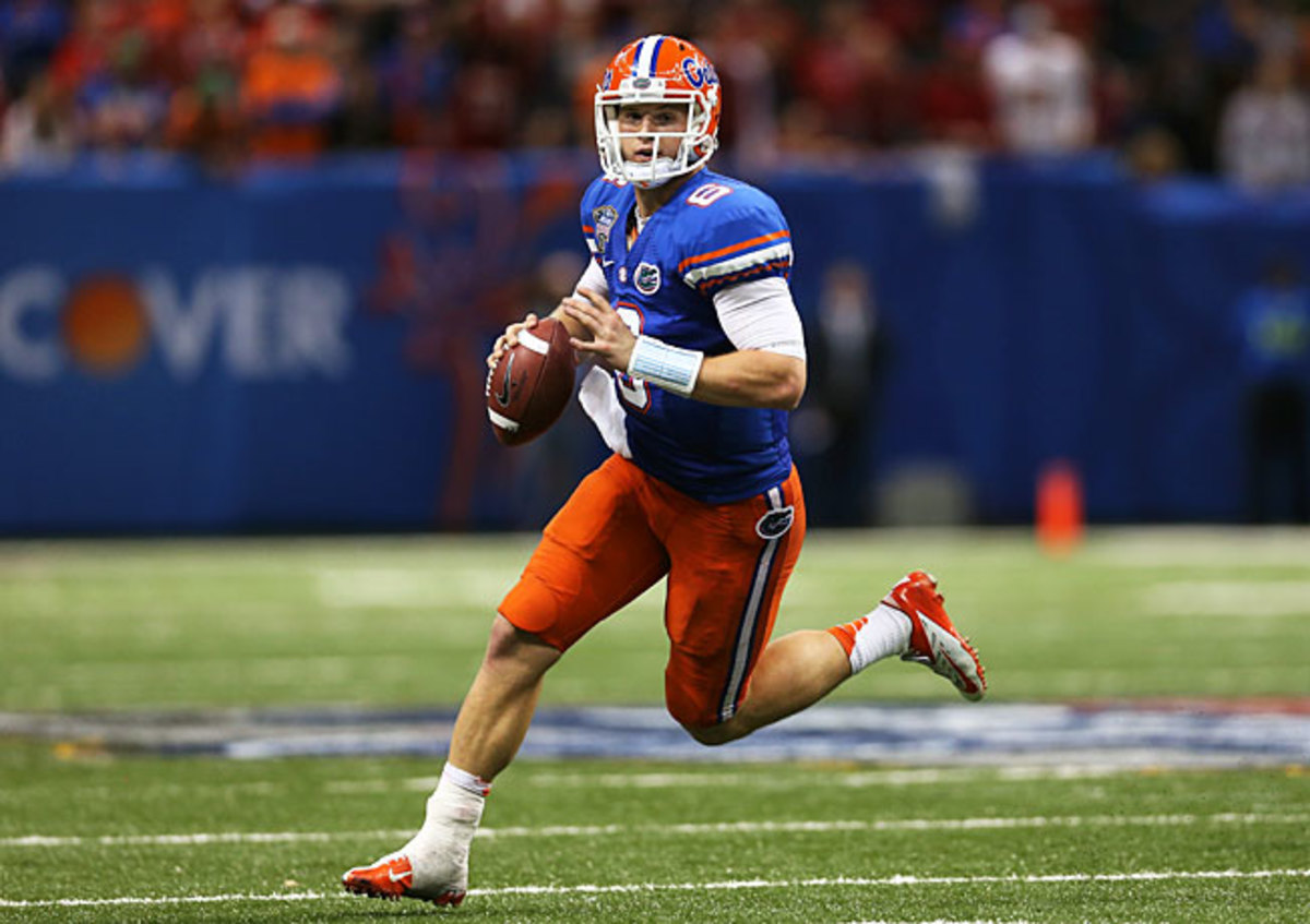 Jeff Driskel and Florida posted an 11-1 regular-season record in '12 to finish third in the BCS standings.