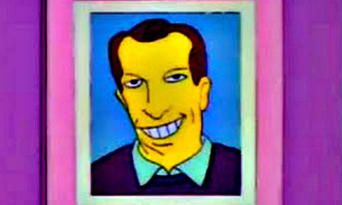 Gordie Howe on The Simpsons