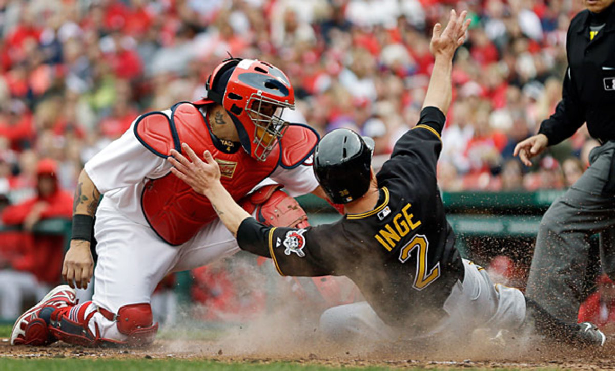 The Pirates have taken three of five from the Cardinals this year, but the two teams haven't met since late April.