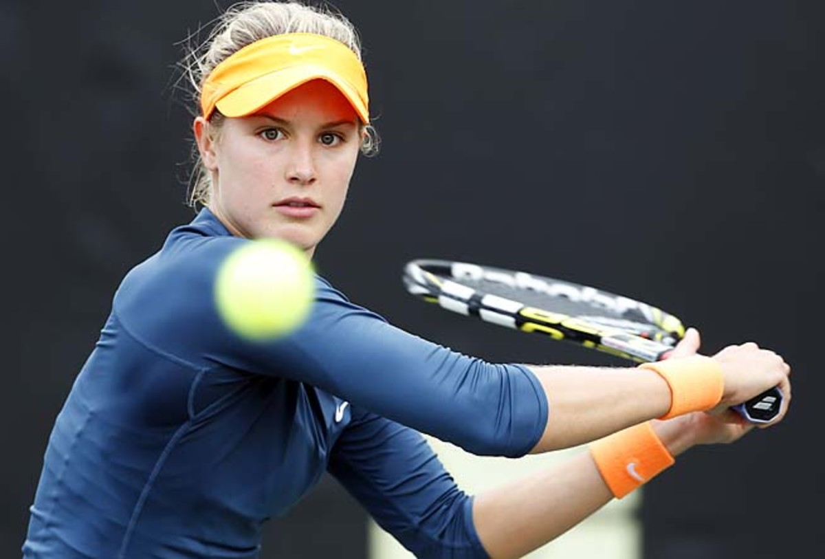 Eugenie Bouchard, No. 93, is the second highest ranked Canadian behind Aleksandra Wozniak.