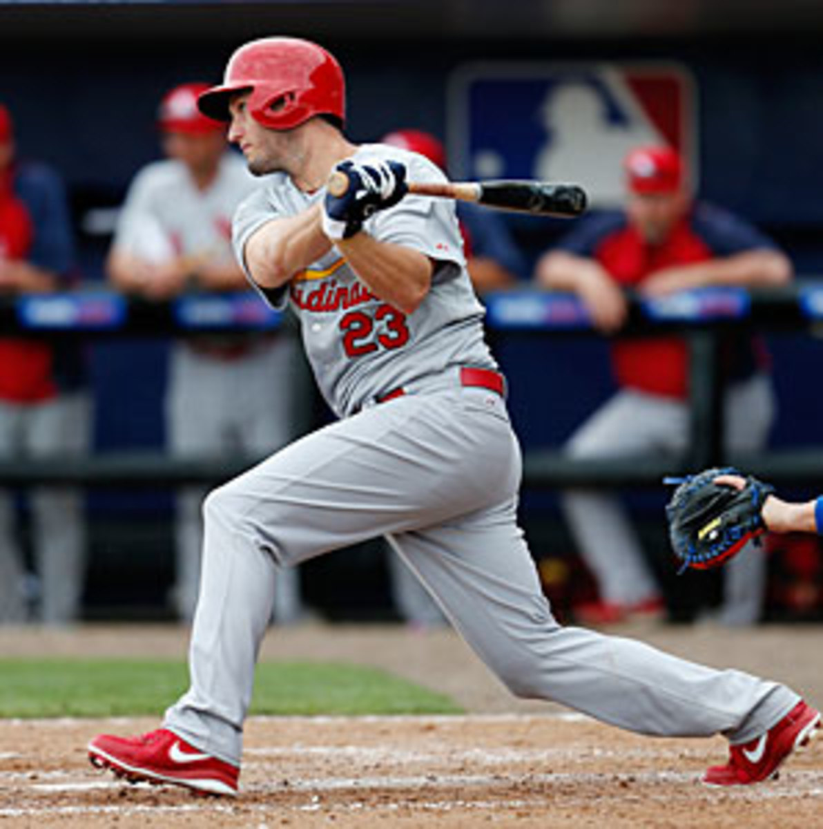 The Cardinals added David Freese to a lengthy list of injuries already this year but hope their third baseman will be ready by opening day.