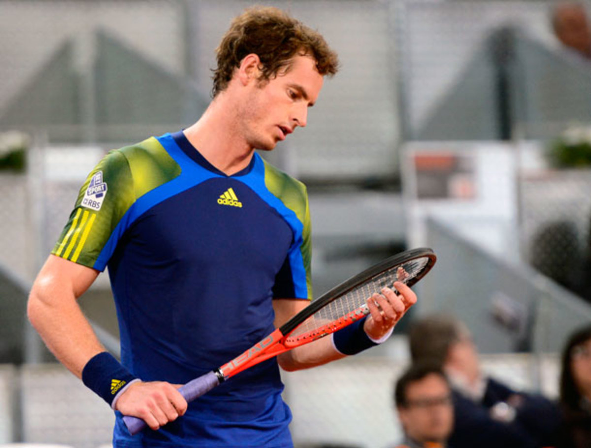 Andy Murray has upped his social media presence while (Javier Soriano/AFP/Getty Images)