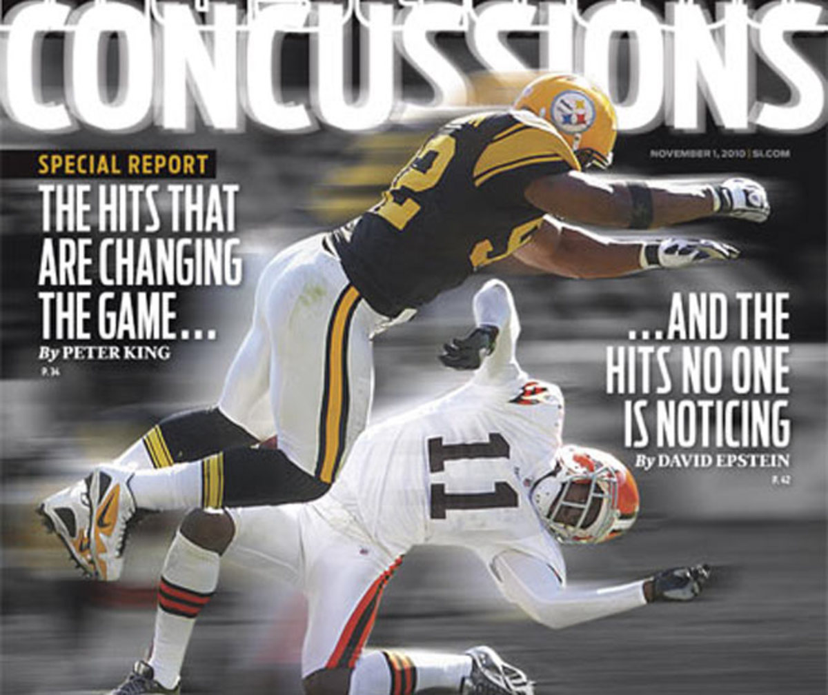 Sports Illustrated took a look at concussions in its Nov. 1, 2010, issue.