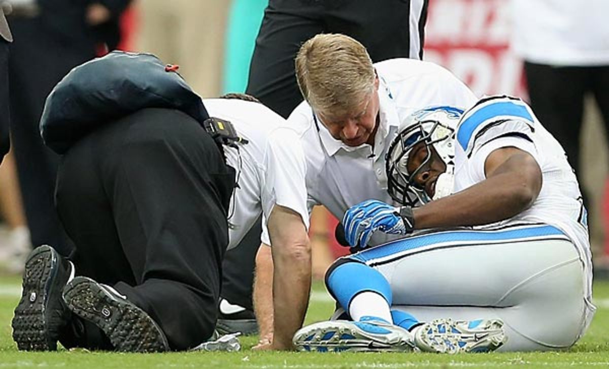 Reggie Bush said he will return next week against the Bears. (Christian Petersen/Getty Images)