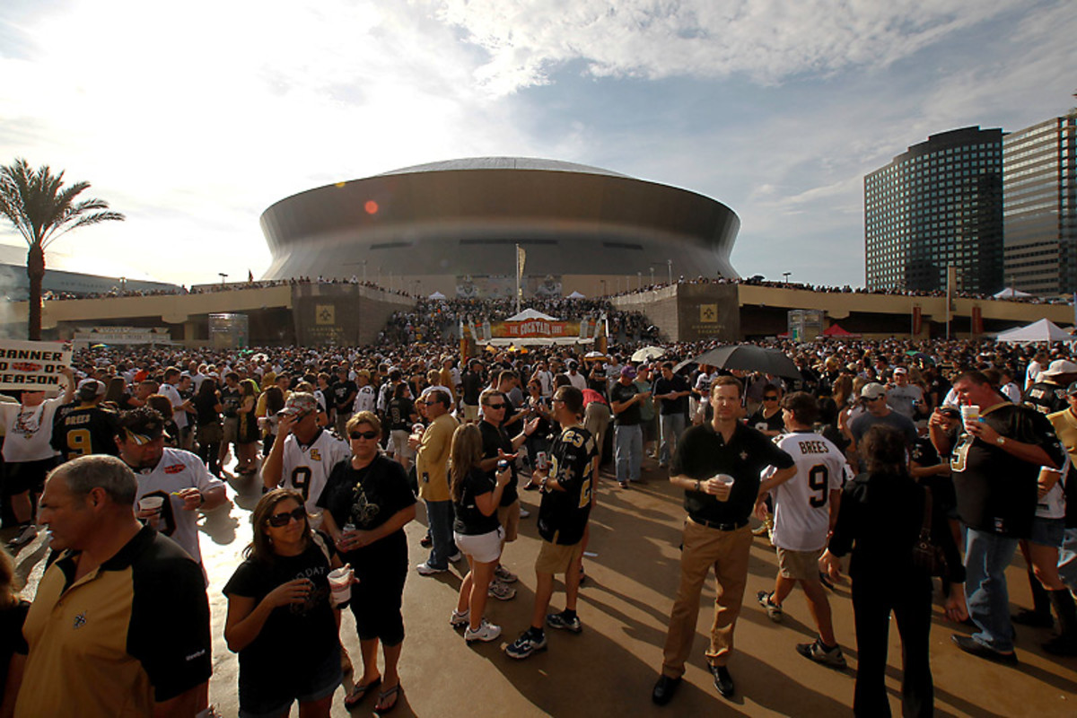 Saints fans have a reputation for two things: Enjoying a good celebration and making things difficult on opposing teams. (Derick E. Hingle/US Presswire)