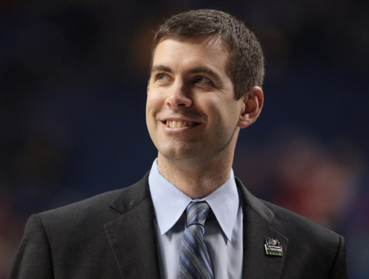 Brad Stevens coached Butler University to back-to-back national championship games in 2010-11. (Getty Images)