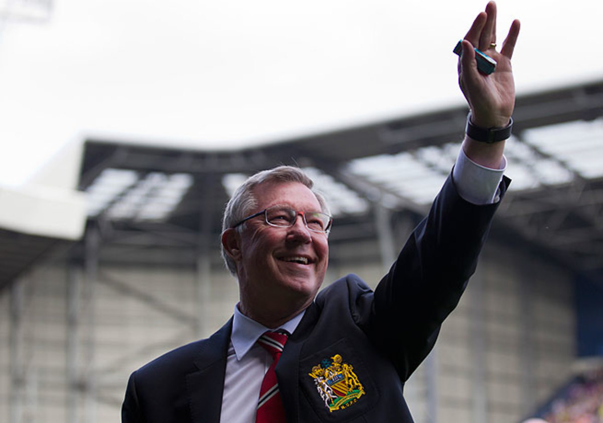 Sir Alex Ferguson capped his last season as manager with his 13th league title at Manchester United.