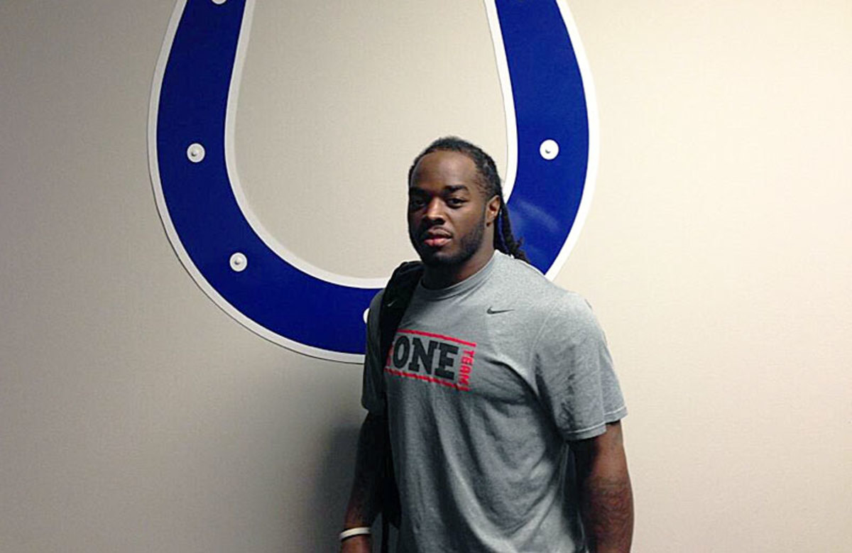 Trent Richardson should bolster the Colts' offense, but he's still a risky play this week.