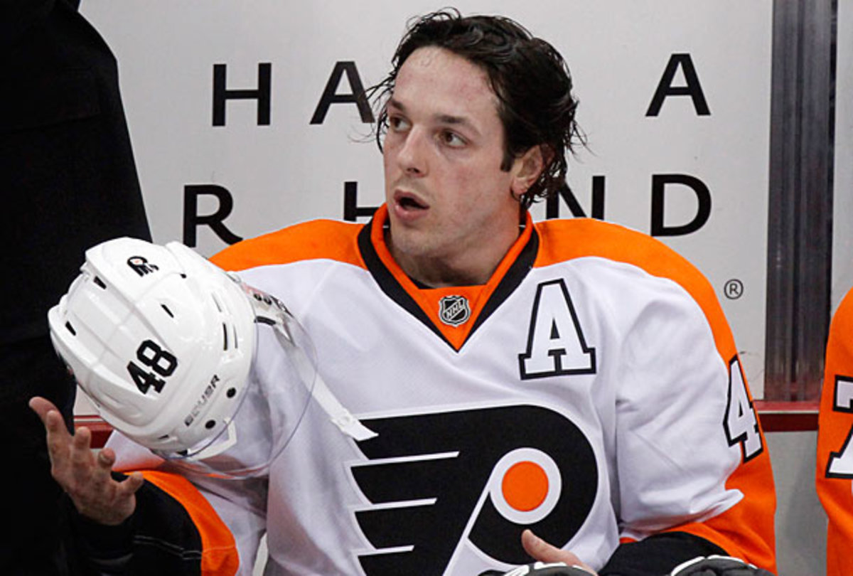 Daniel Briere's contract was bought out by the Philadelphia Flyers.