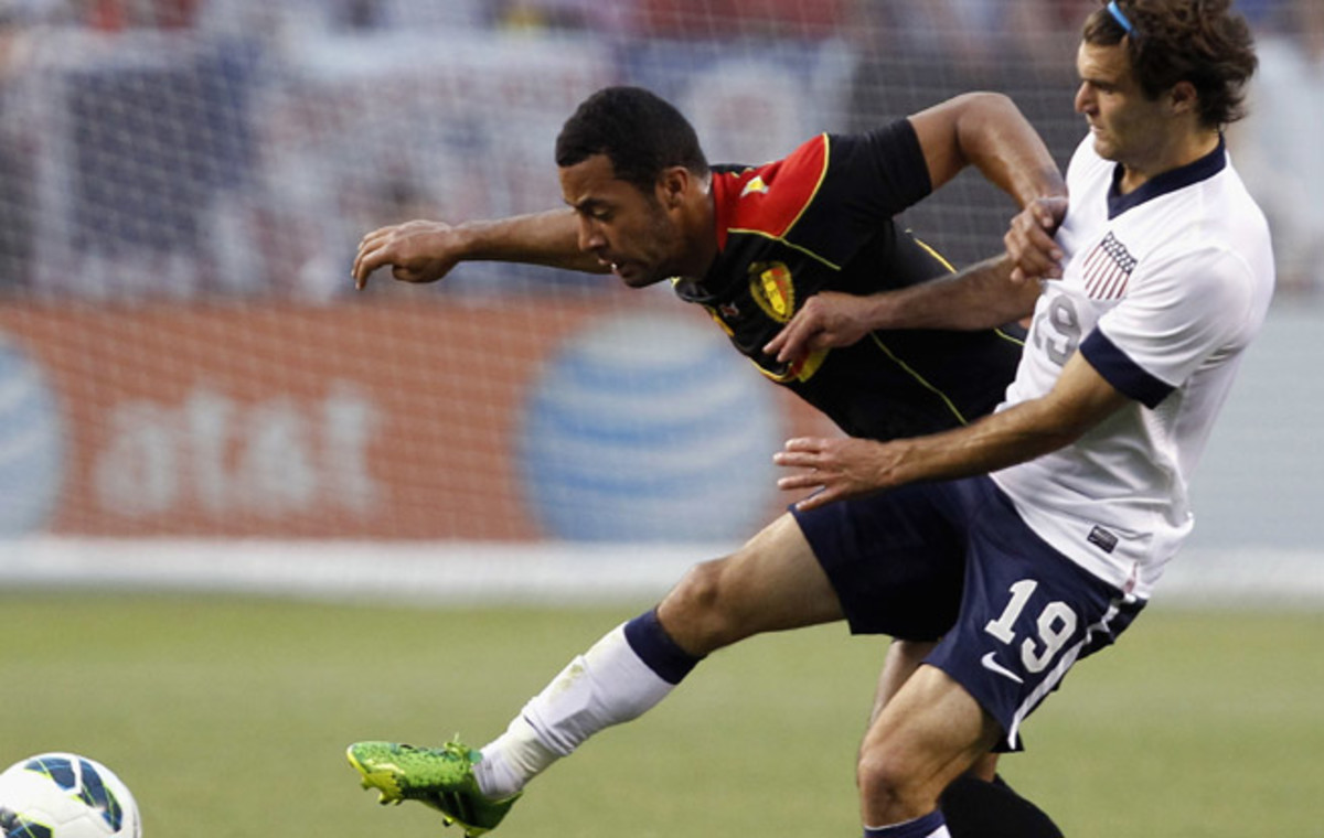 Graham Zusi and the U.S. couldn't keep up with Belgium in the second half of their friendly match.