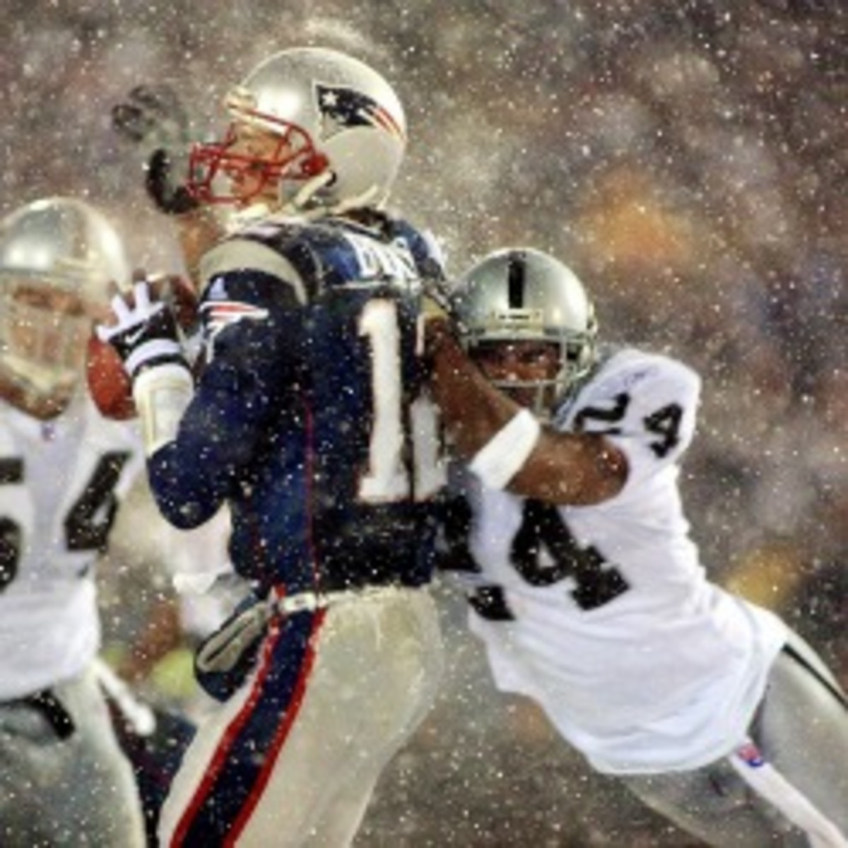 The NFL passes several rules changes, including the  elimination of the Tuck Rule. (Matt Campbell/Getty Images)