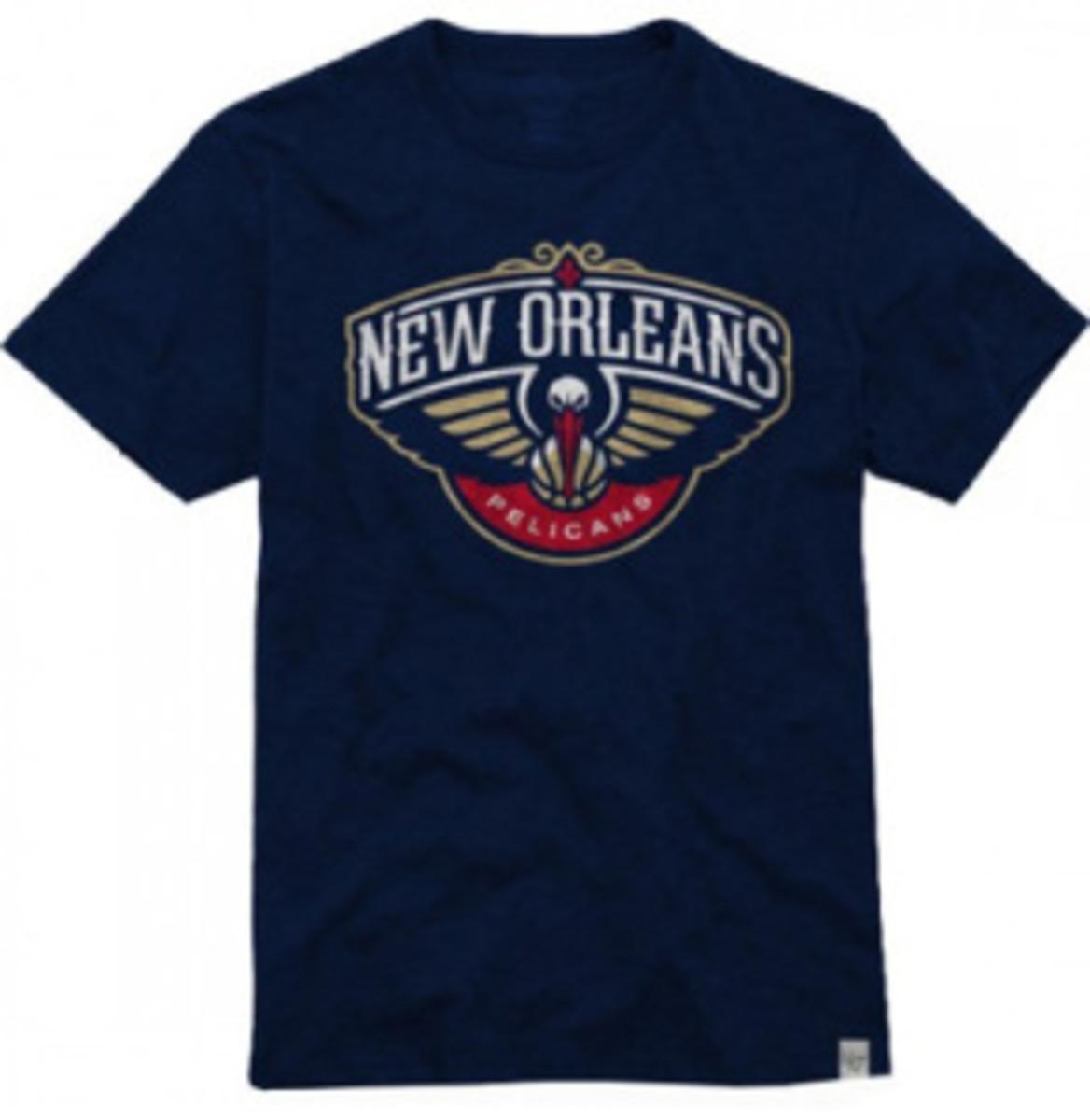A New Orleans Pelicans t-shirt design. (NBA.com)