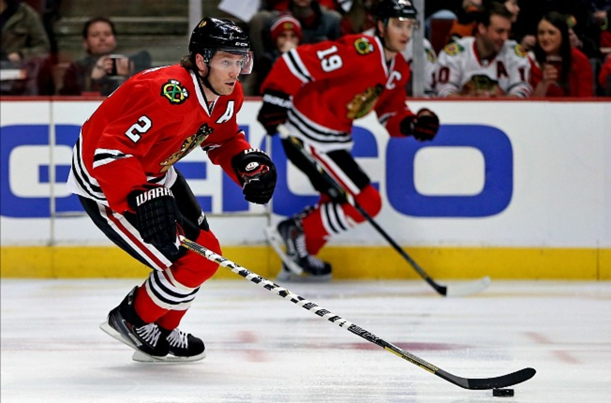 Duncan Keith and Chicago's potent blueline corps are making life miserable for NHL goaltenders.