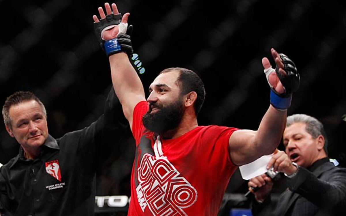 Johny Hendricks (pictured) could well be the guy who ends Georges St-Pierre's long reign as champion.