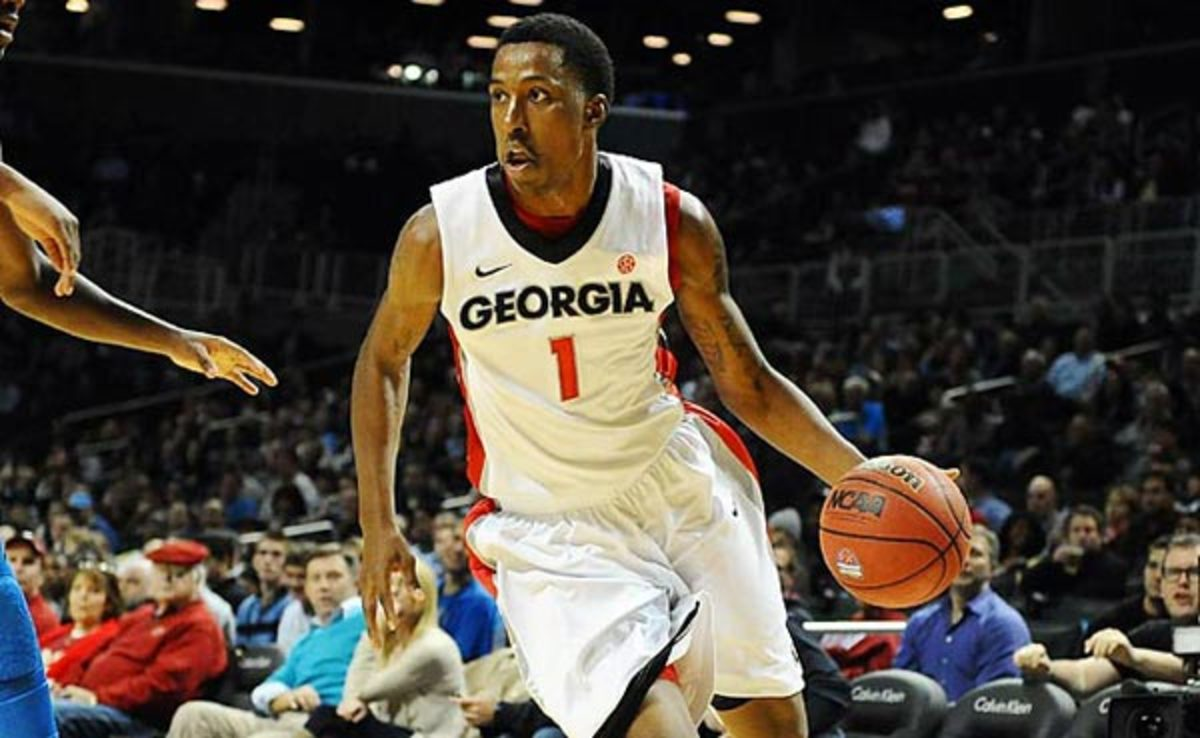 Kentavious Caldwell-Pope averaged 18.5 points and 7.1 rebounds at Georgia last season.