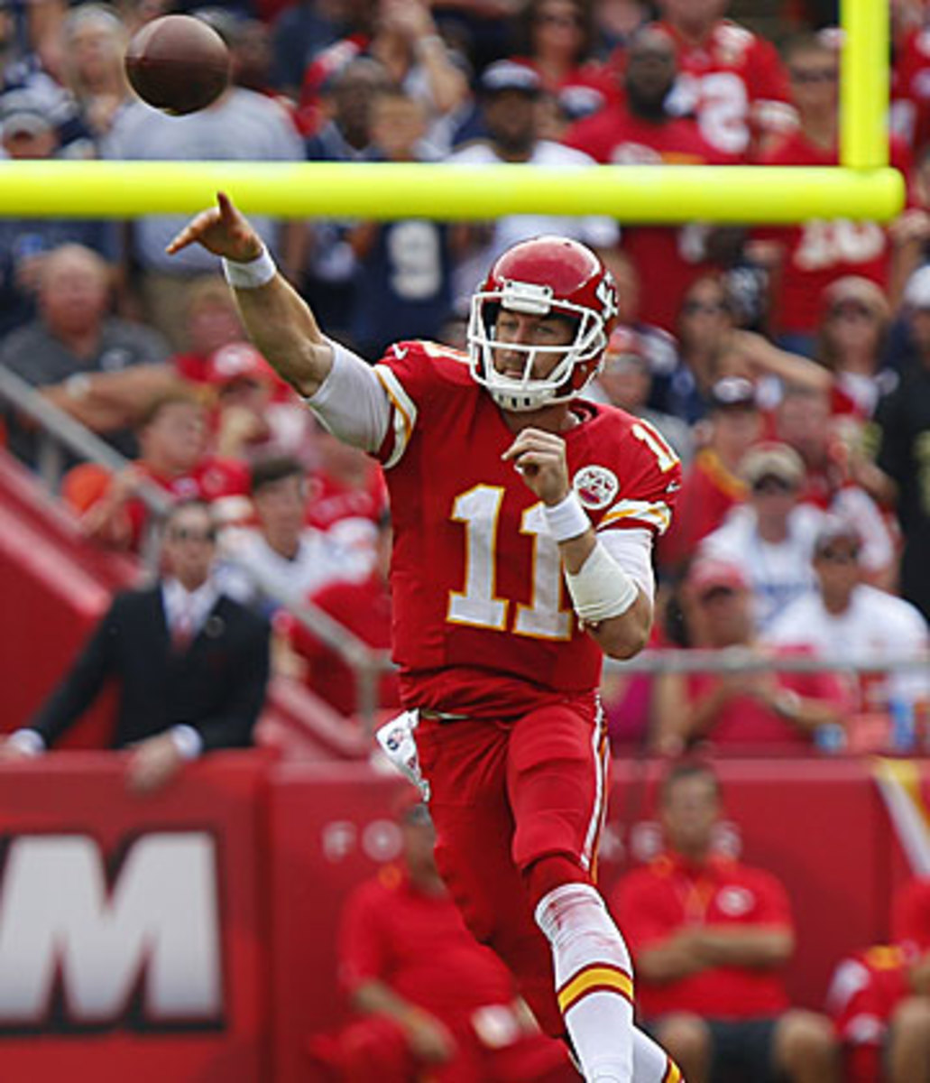 Alex Smith hasn't committed a turnover yet this year, as the Chiefs have already matched their 2012 win total.