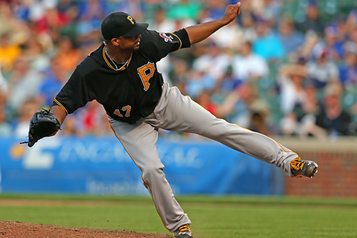 Liriano is 5-1 in his last six starts, and gave the Pirates their 11th win in 13 games. (Jonathan Daniel/Getty Images)