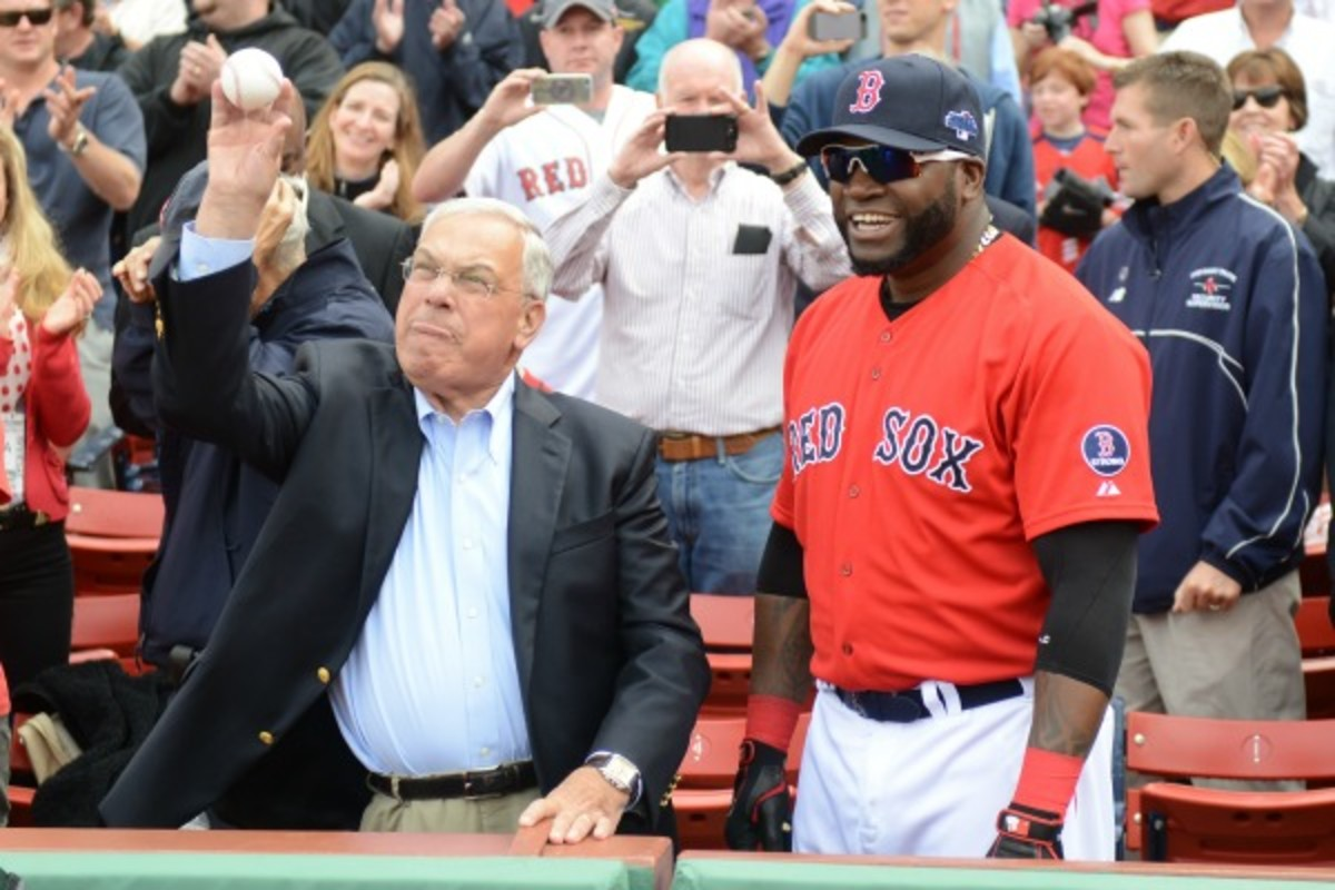 Boston mayor Thomas Menino said the city will be prepared if David Ortiz and the Red Sox win the World Series tonight. (Michael Ivins/Getty Images)