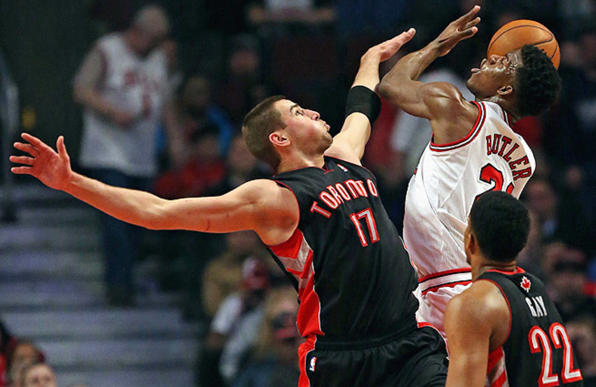 Drafted fifth overall in 2011, Jonas Valanciunas didn't make his debut until the 2012-13 season.