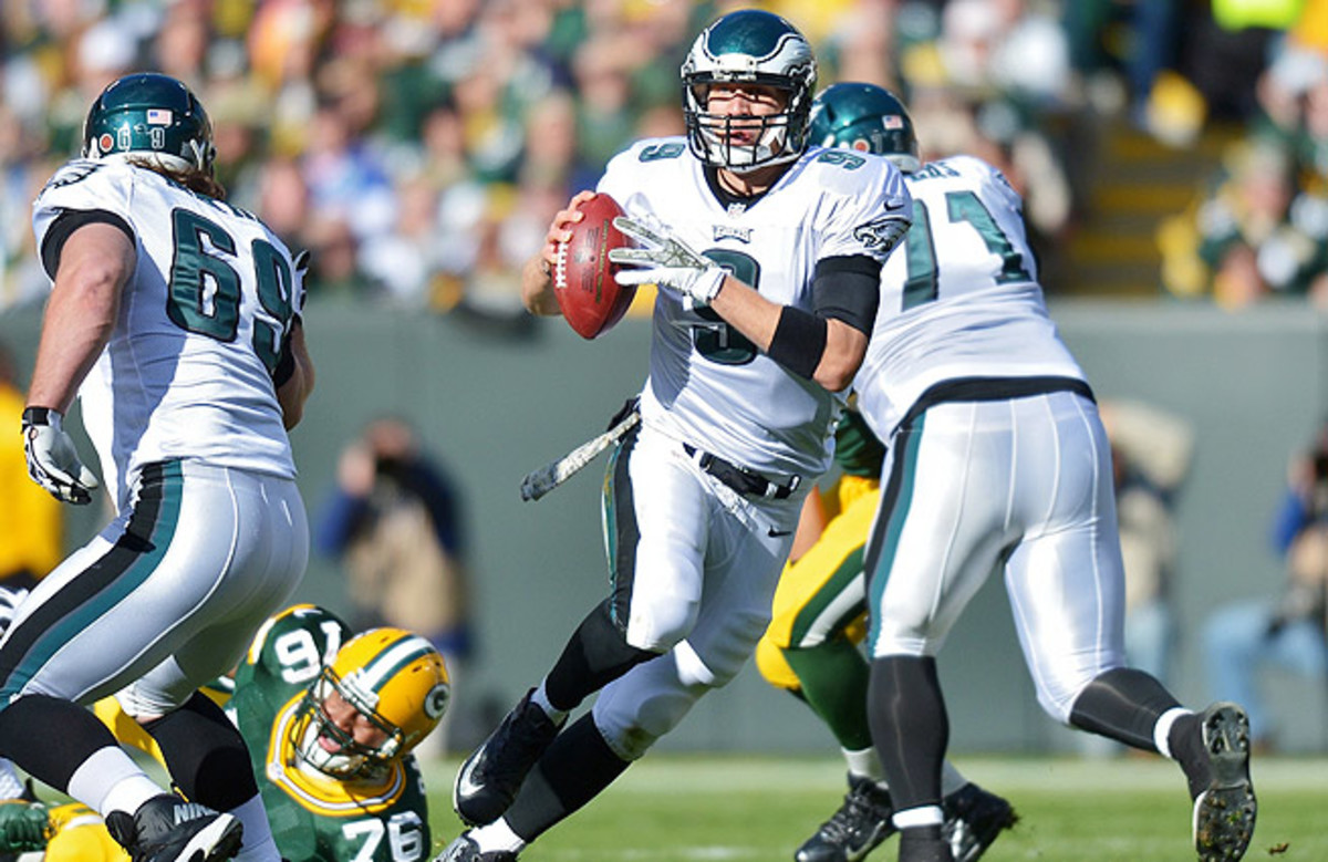 Nick Foles has provided a spark for the Eagles, who are now tied for first in the NFC East.