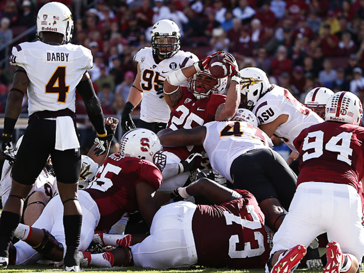 Stanford and ASU will meet again this coming Saturday, this time to decide the Pac-12 title. (Stephen Lam/Getty Images)