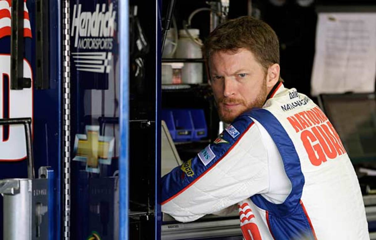 Last year, Dale Earnhardt Jr. suffered two concussions in crashes; one wasn't diagnosed for three days.