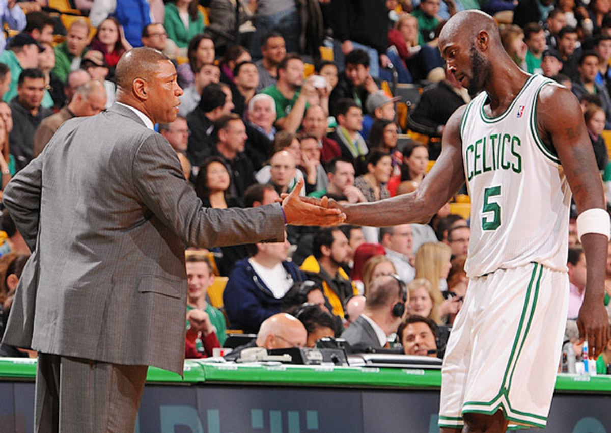 Doc Rivers and Kevin Garnett could be head to Los Angeles Clippers this summer